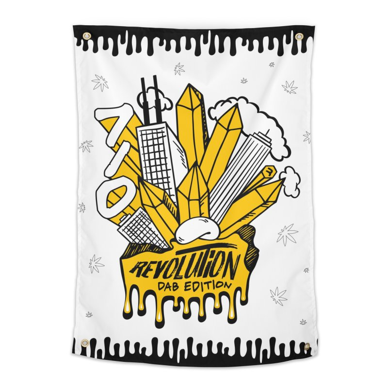 710 - Dab Edition Home Tapestry by RevolutionTradingCo