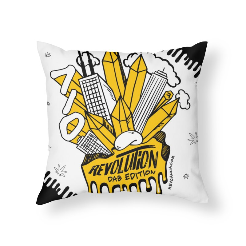 710 - Dab Edition Home Throw Pillow by RevolutionTradingCo