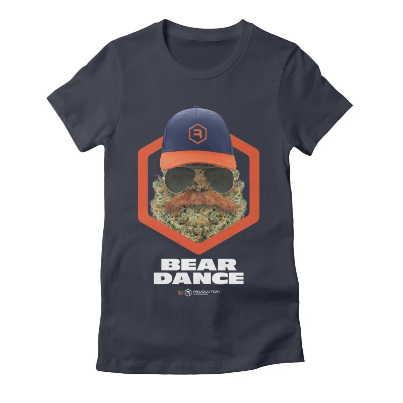 Bear Dance Women's Fitted T-Shirt by RevolutionTradingCo