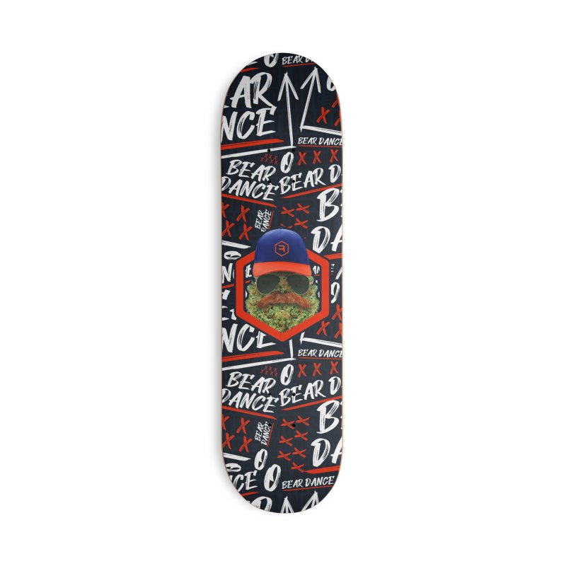 Bear Dance in Deck Only Skateboard by RevolutionTradingCo