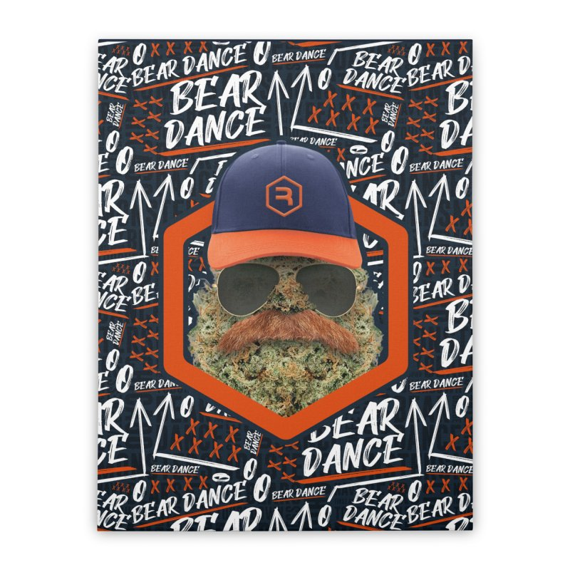 Bear Dance Home Stretched Canvas by RevolutionTradingCo