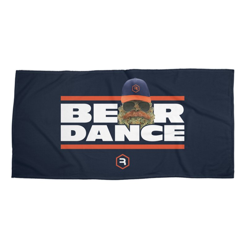 Bear Dance Stripes Accessories Beach Towel by RevolutionTradingCo