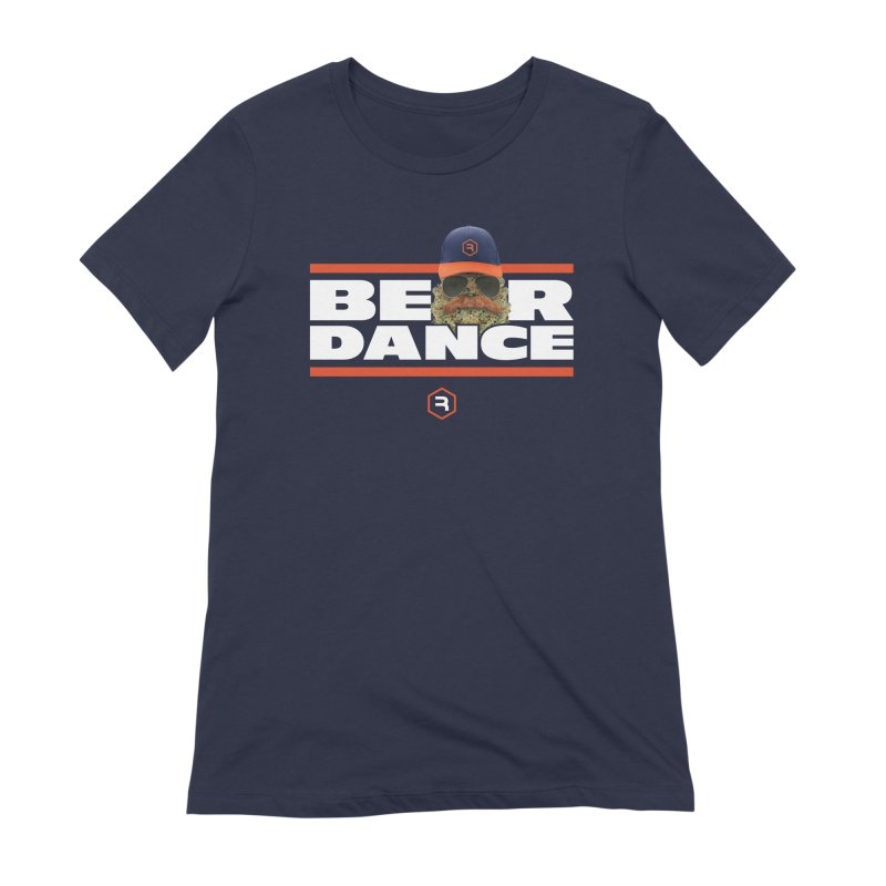 Bear Dance Stripes Women's Extra Soft T-Shirt by RevolutionTradingCo