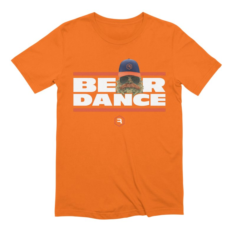 Bear Dance Stripes Men's Extra Soft T-Shirt by RevolutionTradingCo