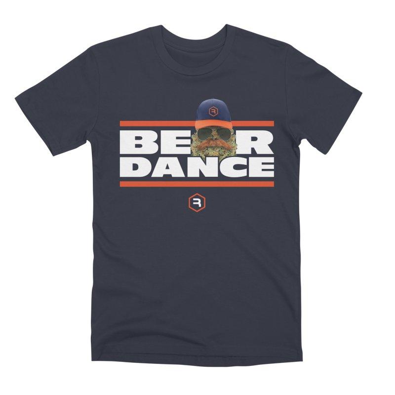 Bear Dance Stripes Men's T-Shirt by RevolutionTradingCo