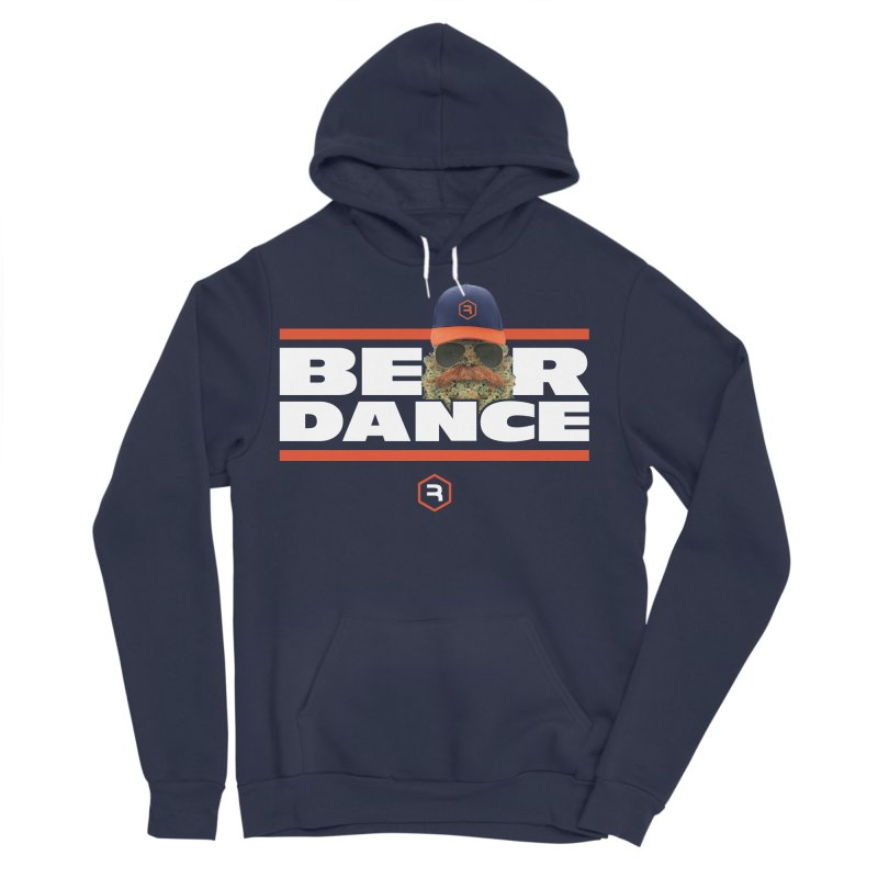 Bear Dance Stripes Women's Pullover Hoody by RevolutionTradingCo