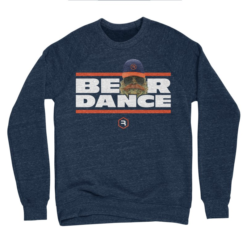 Bear Dance Stripes Men's Sponge Fleece Sweatshirt by RevolutionTradingCo