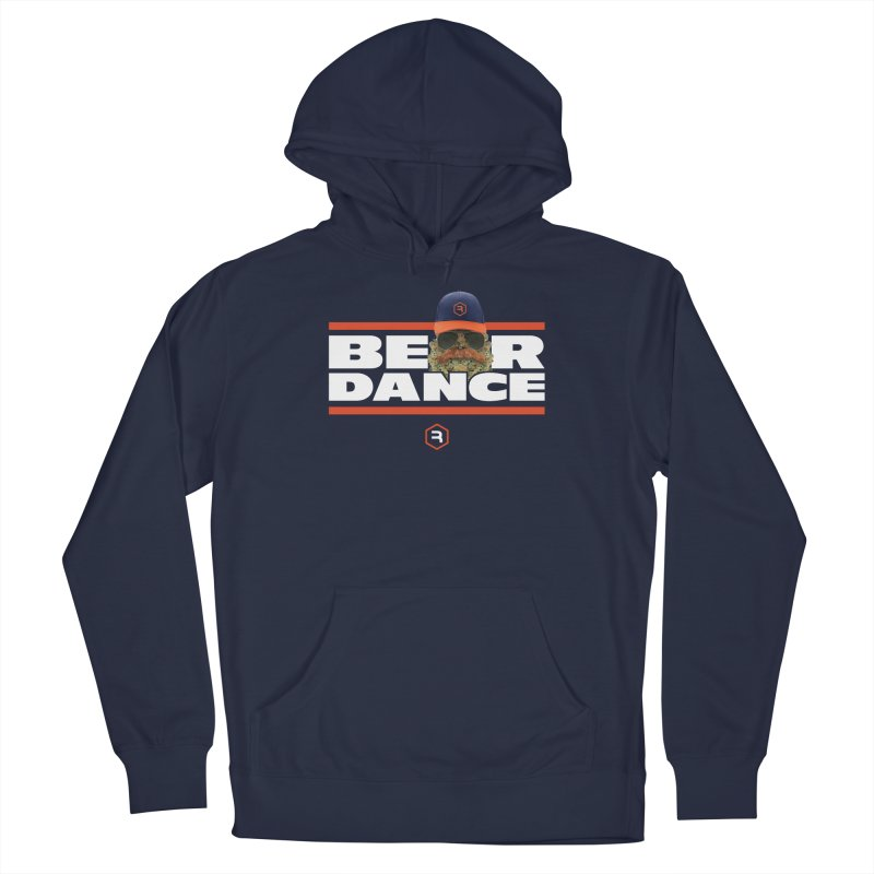 Bear Dance Stripes Men's French Terry Pullover Hoody by RevolutionTradingCo