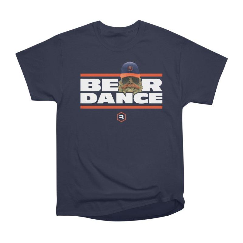 Bear Dance Stripes Women's Heavyweight Unisex T-Shirt by RevolutionTradingCo