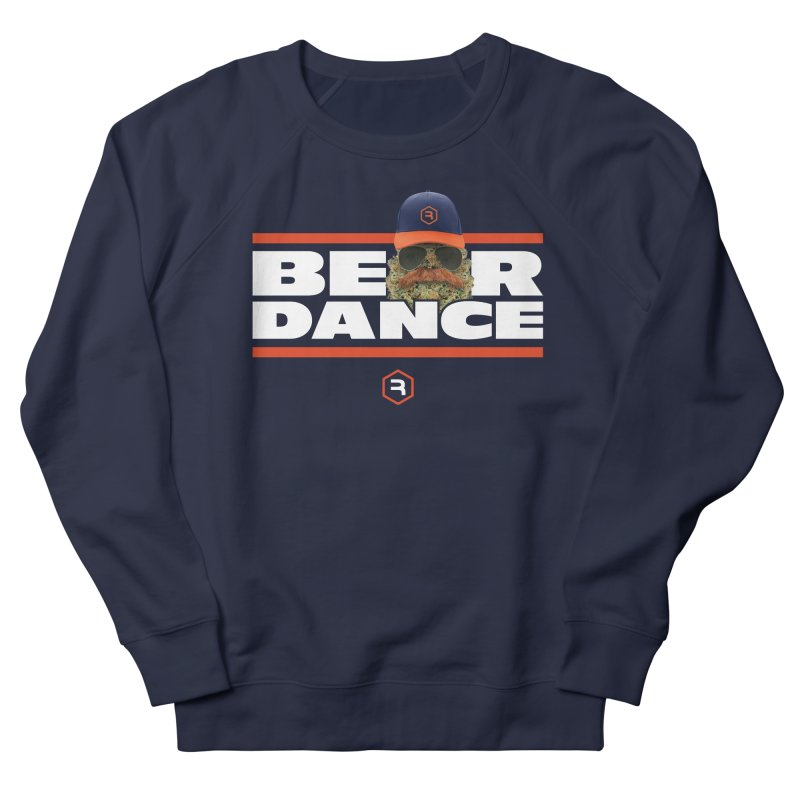 Bear Dance Stripes Men's French Terry Sweatshirt by RevolutionTradingCo