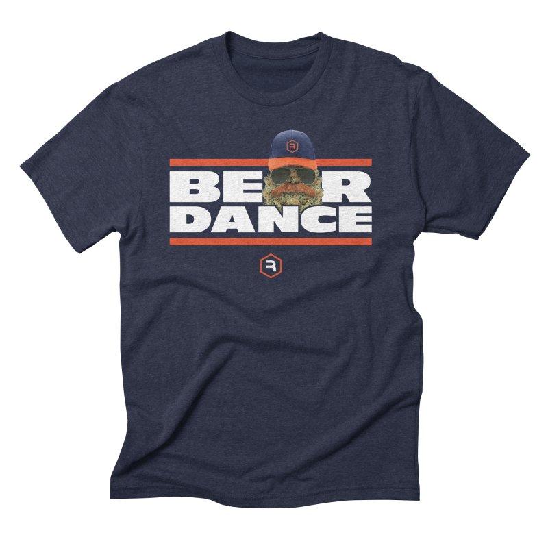Bear Dance Stripes Men's Triblend T-Shirt by RevolutionTradingCo