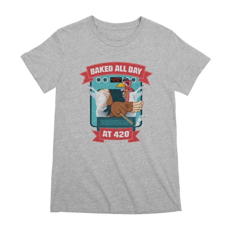 Turkey Leg Women's Premium T-Shirt by RevolutionTradingCo