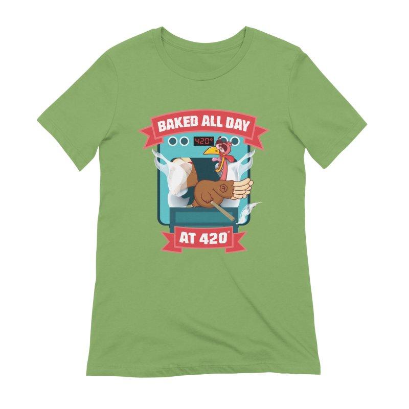 Turkey Leg Women's Extra Soft T-Shirt by RevolutionTradingCo