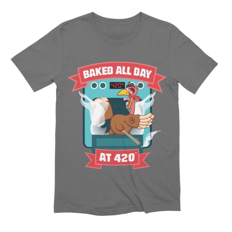 Turkey Leg Men's T-Shirt by RevolutionTradingCo