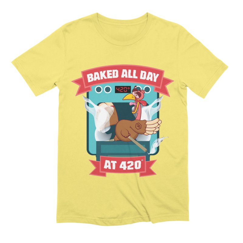 Turkey Leg Men's Extra Soft T-Shirt by RevolutionTradingCo