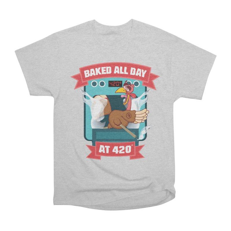 Turkey Leg Men's Heavyweight T-Shirt by RevolutionTradingCo