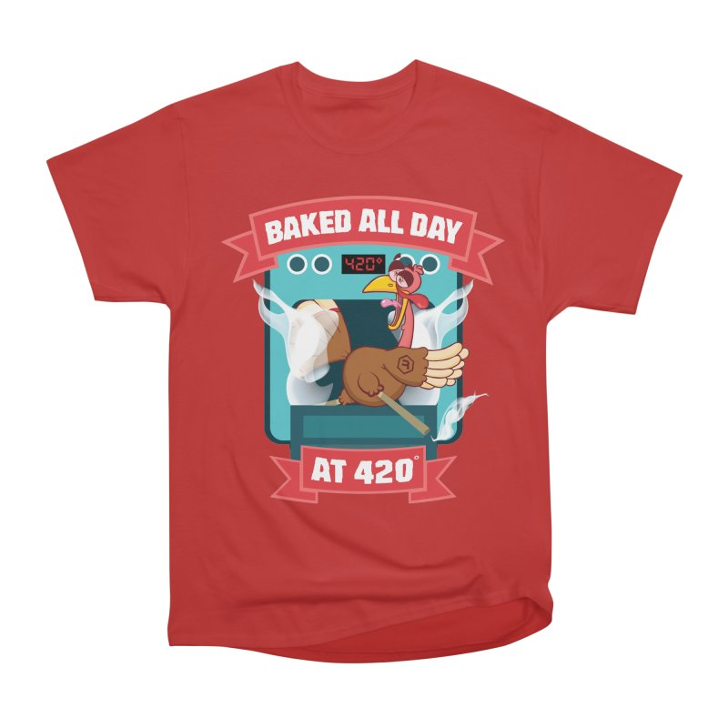 Turkey Leg Women's Heavyweight Unisex T-Shirt by RevolutionTradingCo