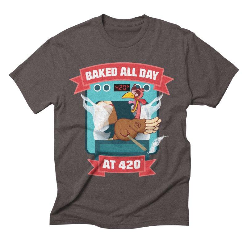 Turkey Leg Men's Triblend T-Shirt by RevolutionTradingCo