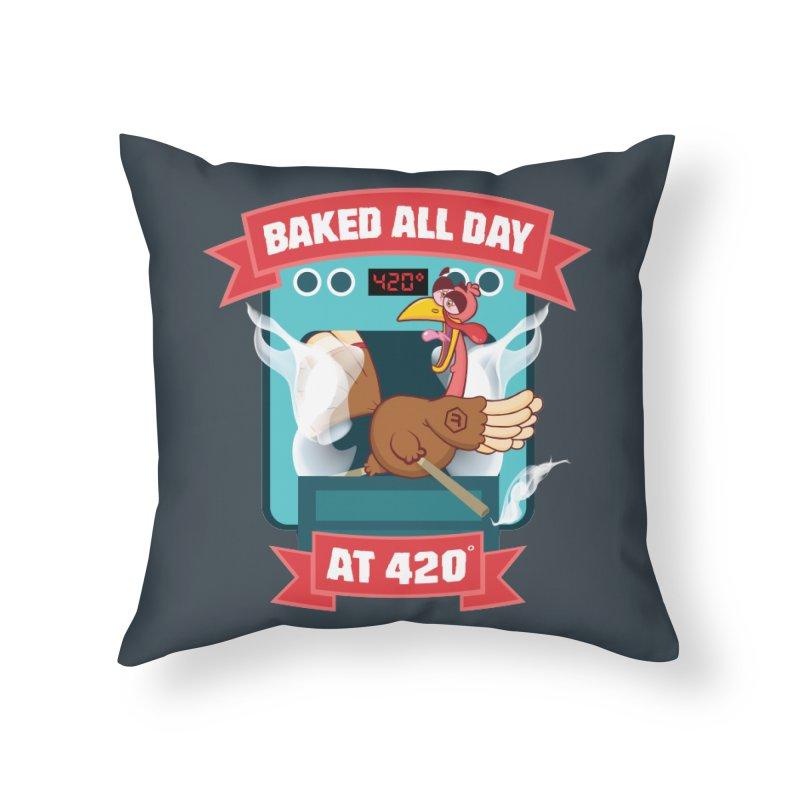 Turkey Leg in Throw Pillow by RevolutionTradingCo