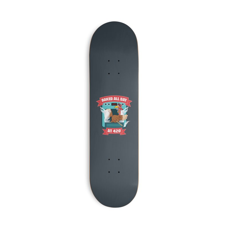 Turkey Leg Accessories Deck Only Skateboard by RevolutionTradingCo