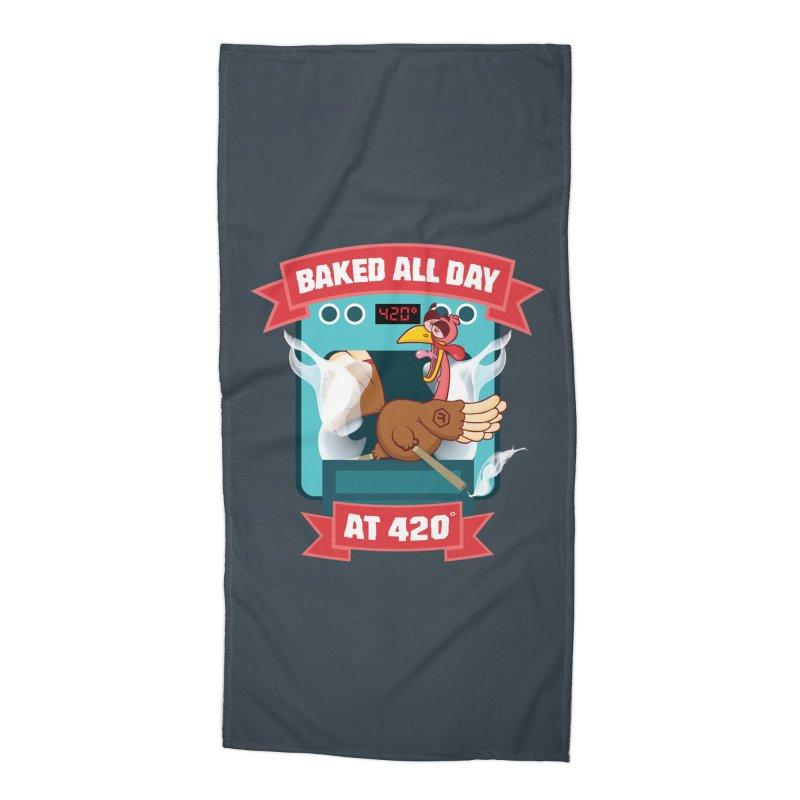 Turkey Leg Accessories Beach Towel by RevolutionTradingCo