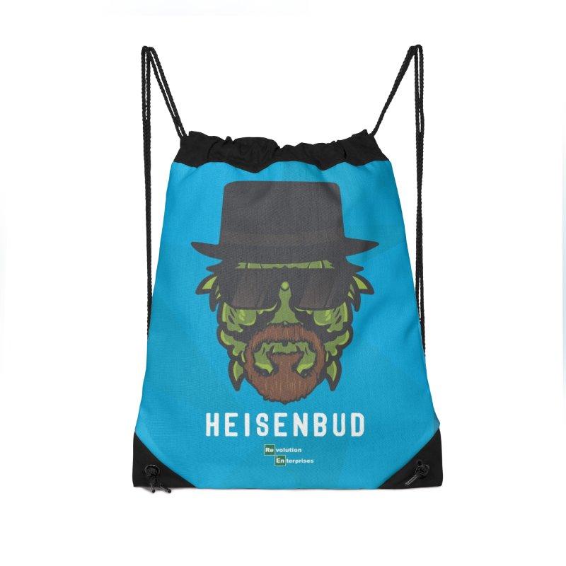 Heisenbud Accessories Drawstring Bag Bag by RevolutionTradingCo