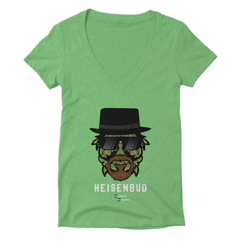 Heisenbud Women's Deep V-Neck V-Neck by RevolutionTradingCo