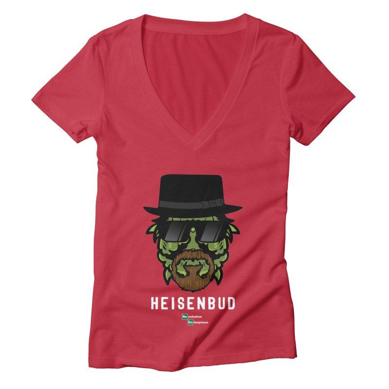 Heisenbud Women's Deep V-Neck V-Neck by RevolutionTradingCo