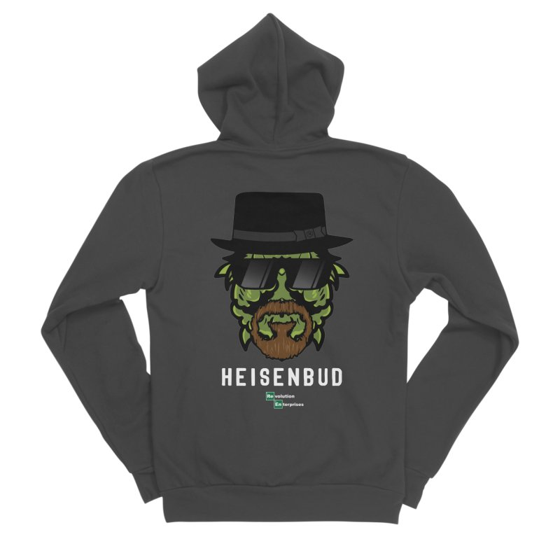 Heisenbud Men's Sponge Fleece Zip-Up Hoody by RevolutionTradingCo