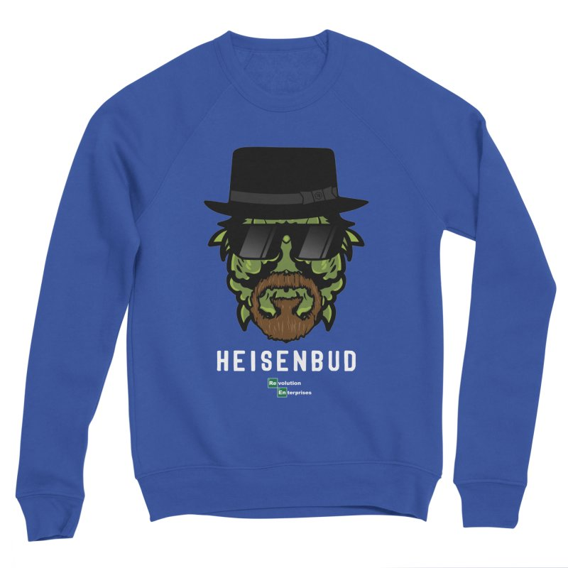Heisenbud Men's Sponge Fleece Sweatshirt by RevolutionTradingCo