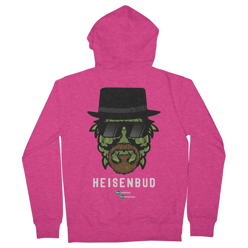 Heisenbud Women's French Terry Zip-Up Hoody by RevolutionTradingCo