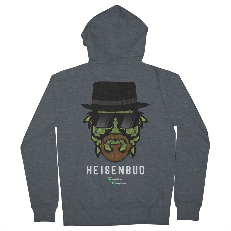 Heisenbud Men's French Terry Zip-Up Hoody by RevolutionTradingCo
