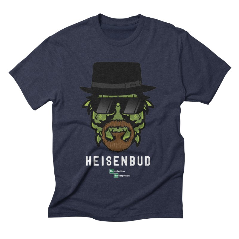 Heisenbud in Men's Triblend T-Shirt Navy by RevolutionTradingCo