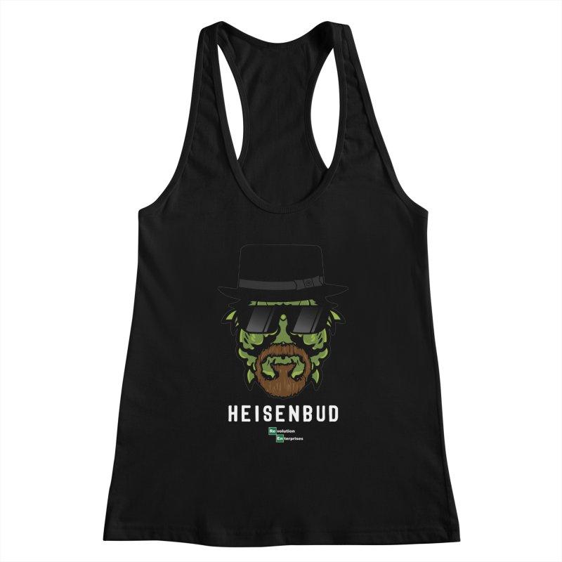 Heisenbud Women's Racerback Tank by RevolutionTradingCo