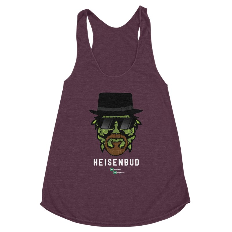 Heisenbud Women's Racerback Triblend Tank by RevolutionTradingCo