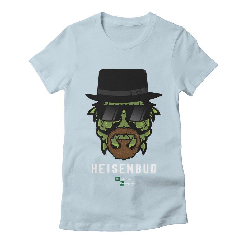Heisenbud Women's Fitted T-Shirt by RevolutionTradingCo