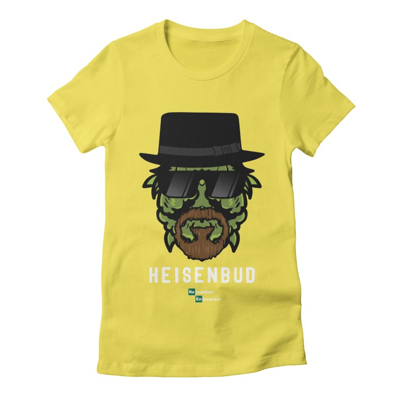 Heisenbud Women's Fitted T-Shirt by RevolutionTradingCo