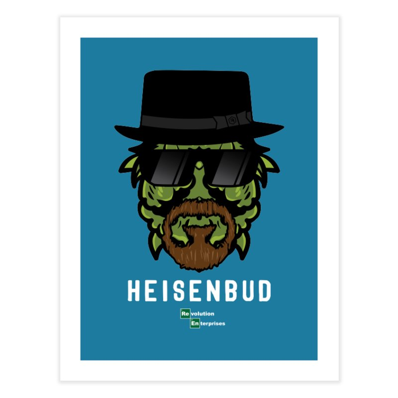 Heisenbud Home Fine Art Print by RevolutionTradingCo