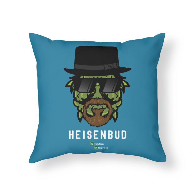 Heisenbud Home Throw Pillow by RevolutionTradingCo