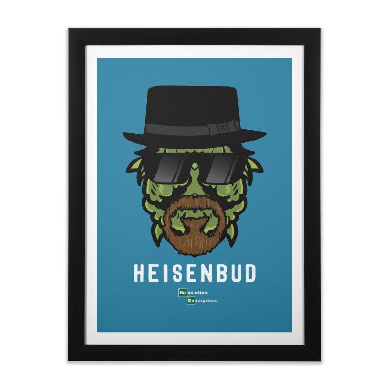 Heisenbud Home Framed Fine Art Print by RevolutionTradingCo