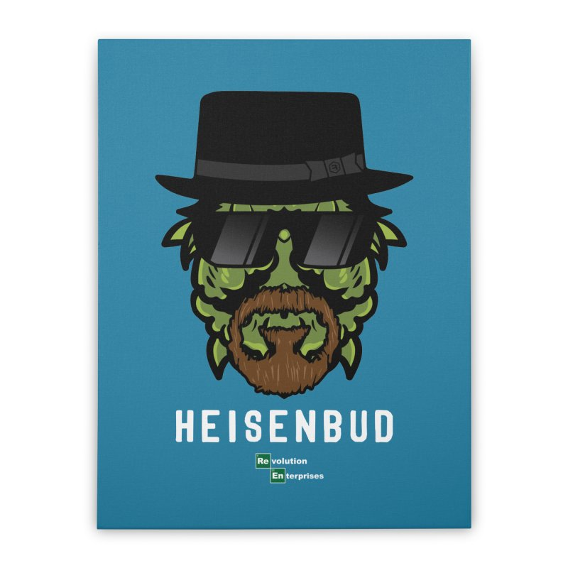 Heisenbud Home Stretched Canvas by RevolutionTradingCo
