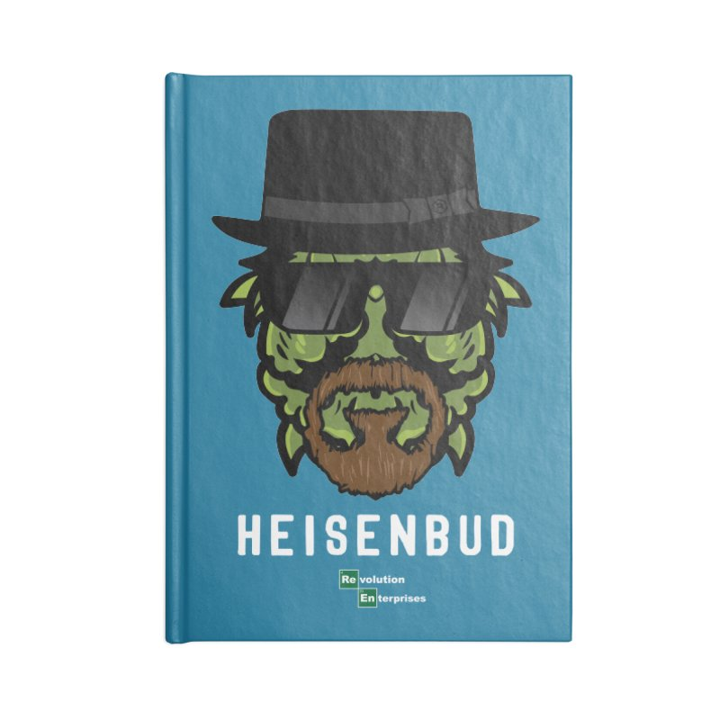 Heisenbud Accessories Blank Journal Notebook by RevolutionTradingCo
