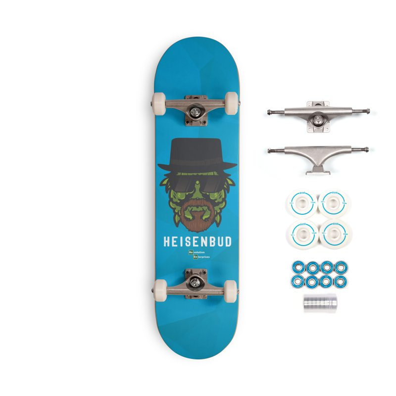 Heisenbud Accessories Complete - Basic Skateboard by RevolutionTradingCo