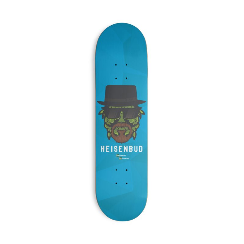 Heisenbud Accessories Deck Only Skateboard by RevolutionTradingCo
