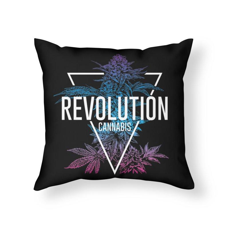 Geo Cola Home Throw Pillow by RevolutionTradingCo