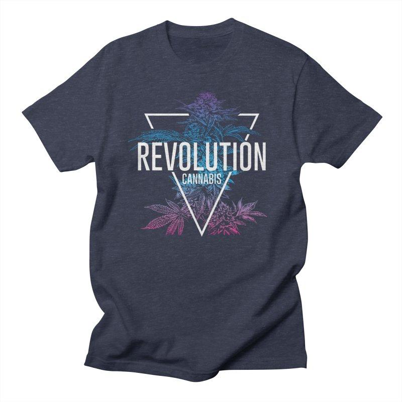 Geo Cola in Men's Regular T-Shirt Heather Navy by RevolutionTradingCo