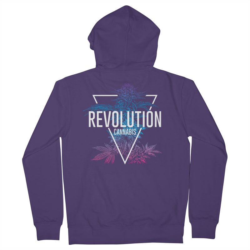 Geo Cola in Women's French Terry Zip-Up Hoody Heather Purple by RevolutionTradingCo