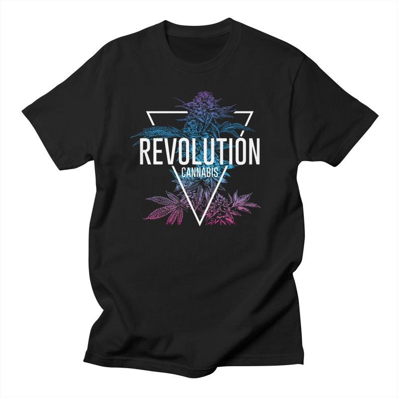 Geo Cola in Men's Regular T-Shirt Black by RevolutionTradingCo