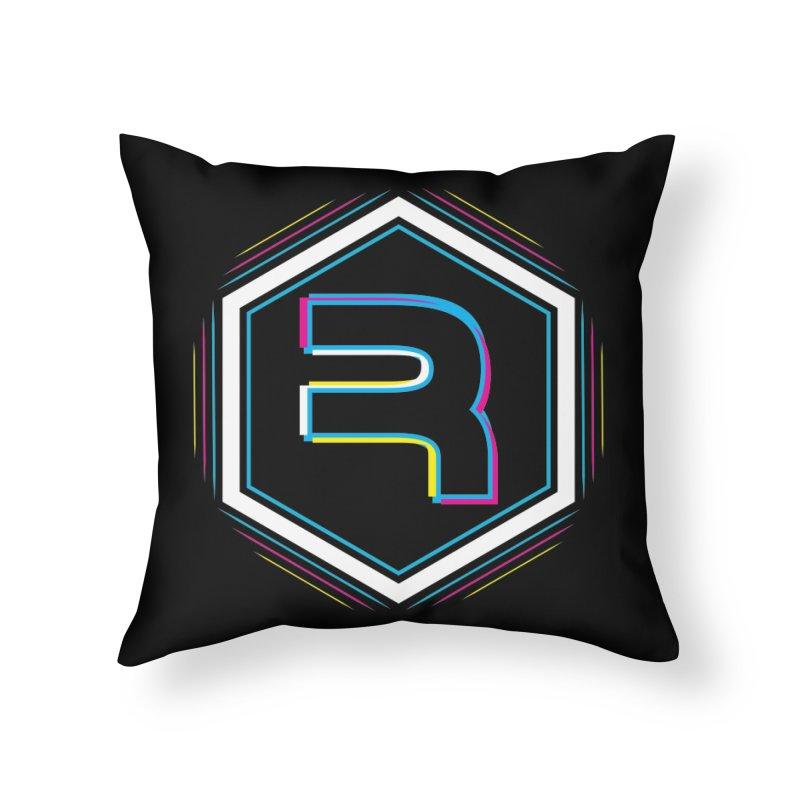 Rev Vibes Home Throw Pillow by RevolutionTradingCo