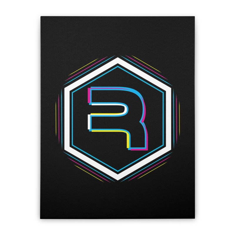 Rev Vibes Home Stretched Canvas by RevolutionTradingCo